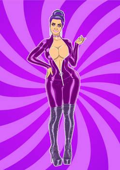 CMSN-Purple Brooke