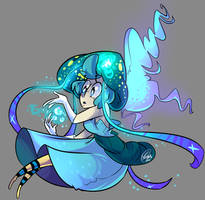 Princess Aloha The goddess of the ocean and water by YoselinFrankCat