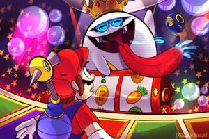 Super Mario Sunshine King Boo Down Below. by YoselinFrankCat