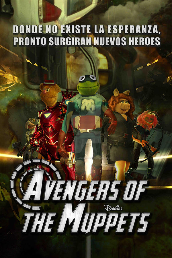Parody poster: Muppets and Avengers by Dan-Dark-angel on ...
