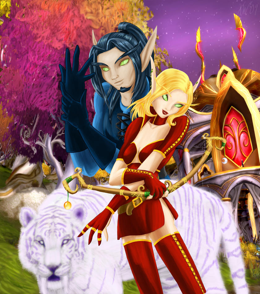 Blood elf hunter erotic movies