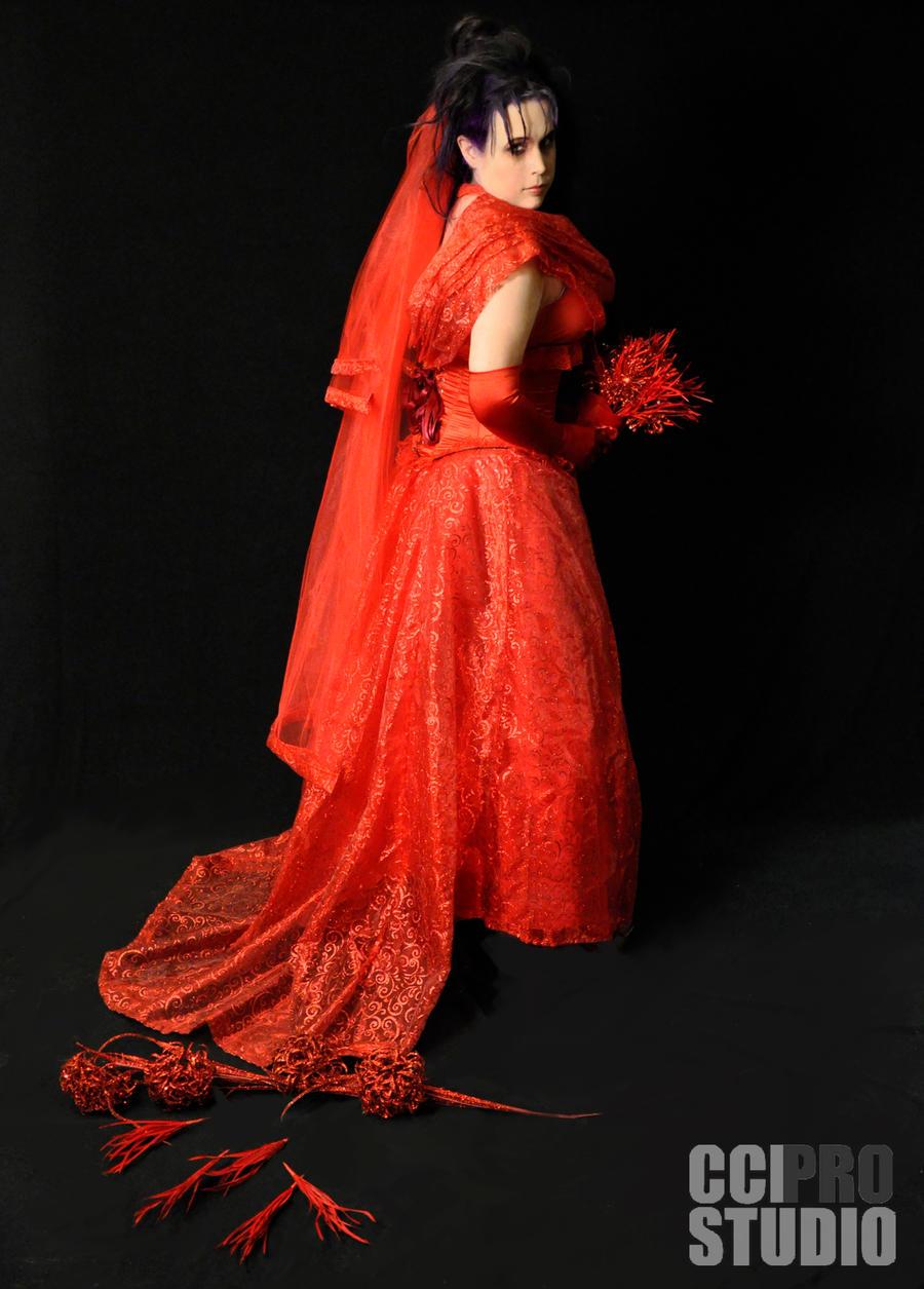 Lydia Deetz Wedding Gown by AzreGreis on DeviantArt