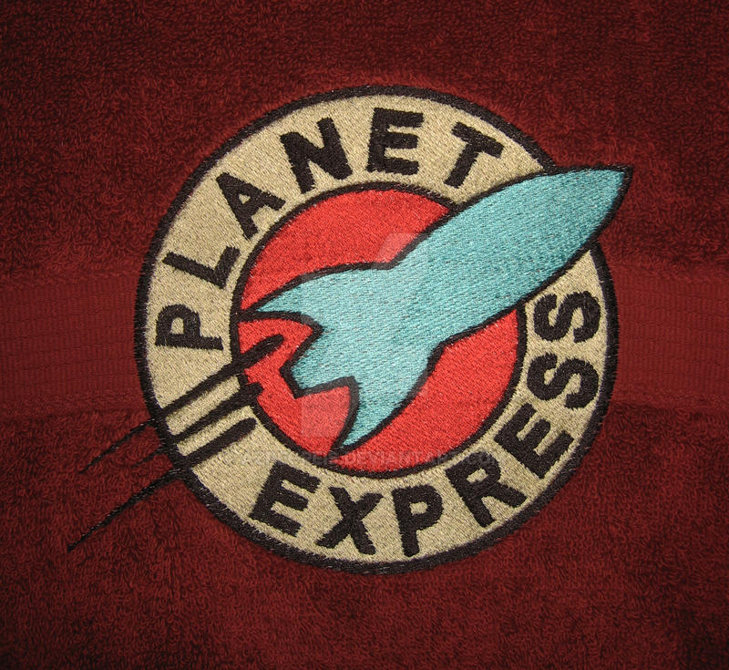 Planet Express Embroidery By Azregreis On Deviantart