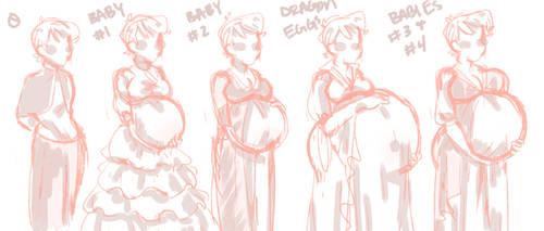 Lotte's Growing Family by poorksies