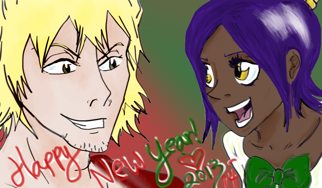 Happy New Year 2013-2014 by RomaniaBlack