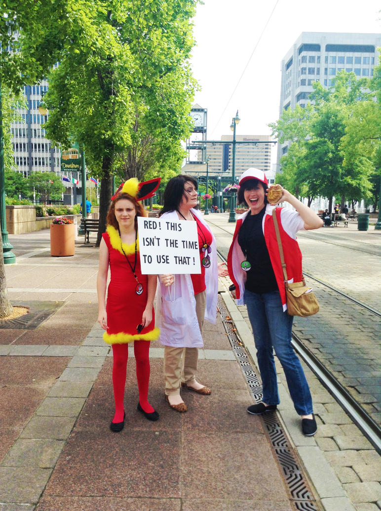 Twitch Plays Pokemon: Cosplay in Memphis by RomaniaBlack