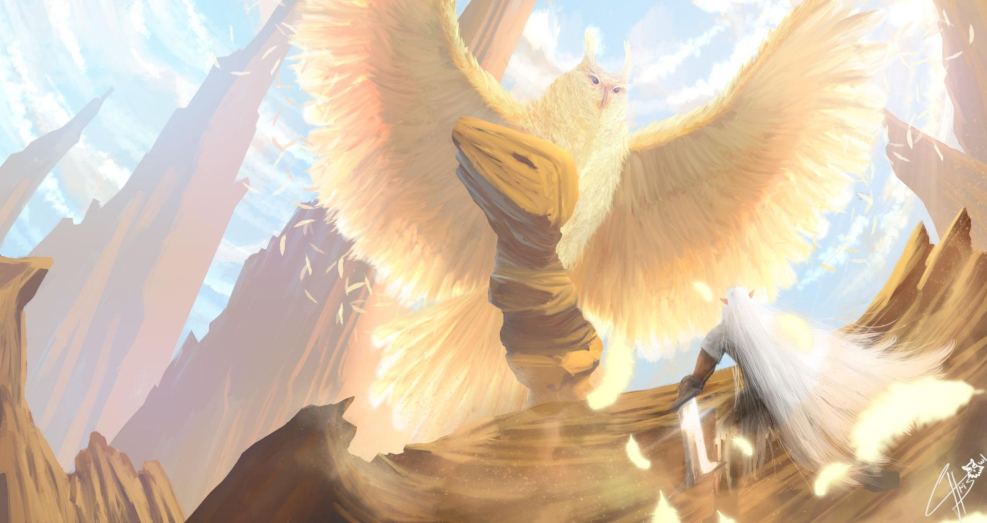 Golden Owl Guardian