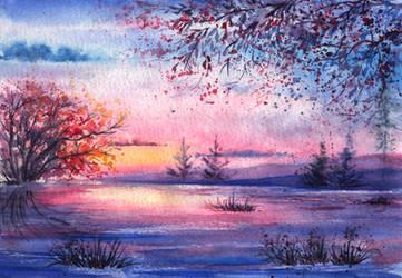 Evening infinity by AnnaArmona