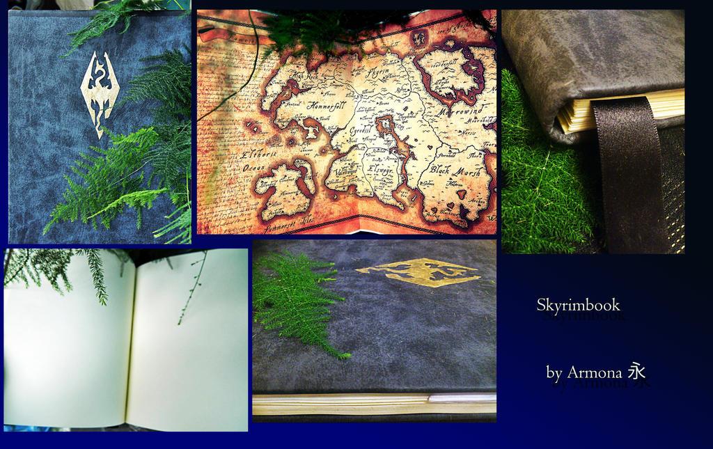 Skyrimbook by AnnaArmona