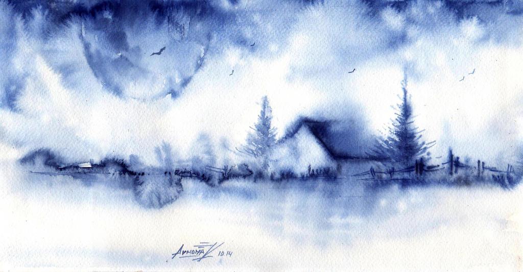 November  mist by AnnaArmona