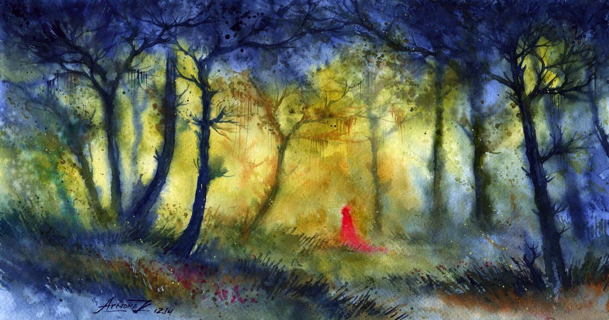 Magic wood. by AnnaArmona