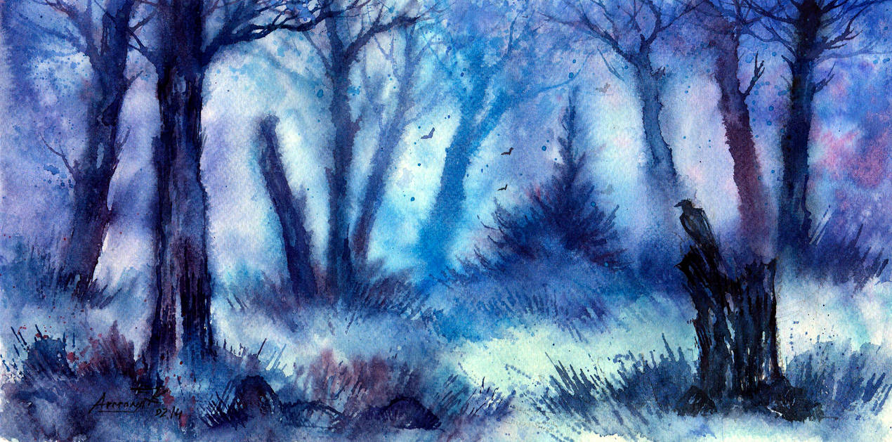 Winter Serenity. by AnnaArmona