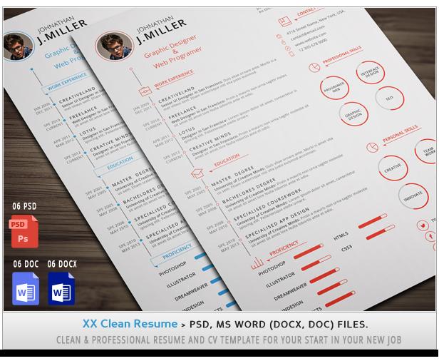 Simple Resume ++