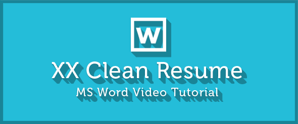 XX Clean Resume