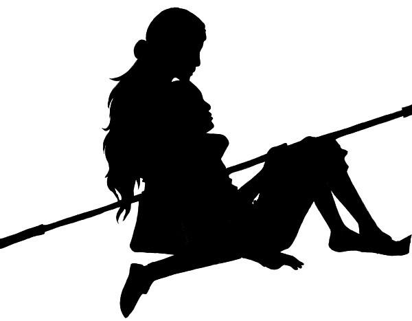 Ship Silhouette - Aang+Katara by kaiyrah on DeviantArt
