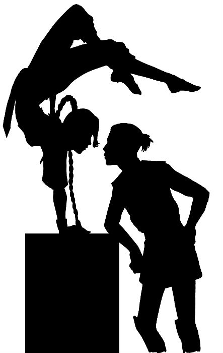 Ship Silhouette - Ty Lee+Sokka by kaiyrah