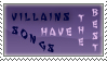 Villain Stamp by Bermael