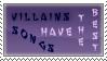 Villain Stamp by Bermael