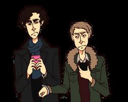 No shit Sherlock by PotatoCrisp