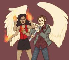 Gabe and Kali by PotatoCrisp