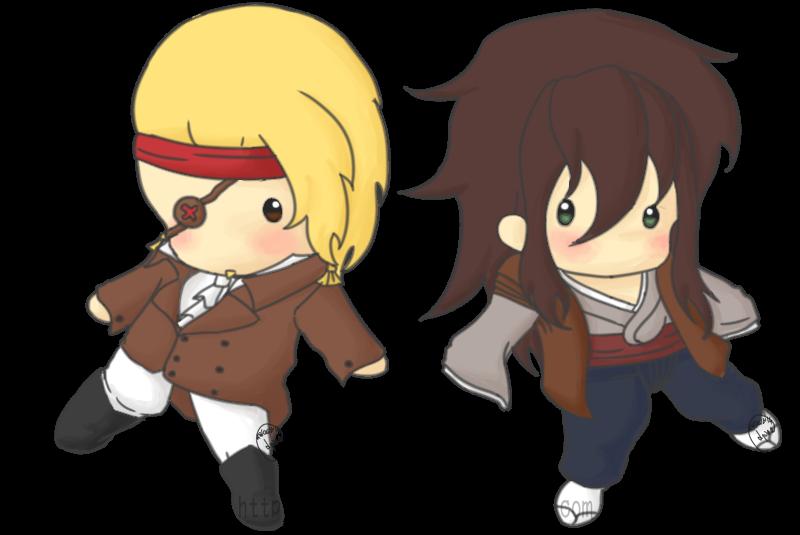 Gia and Kitsune dolls by Lyona-dono
