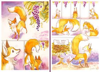 Sour Grapes by MittyMandi
