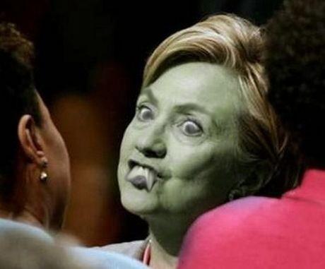 Hillary Clinton Vampire by tsunami264