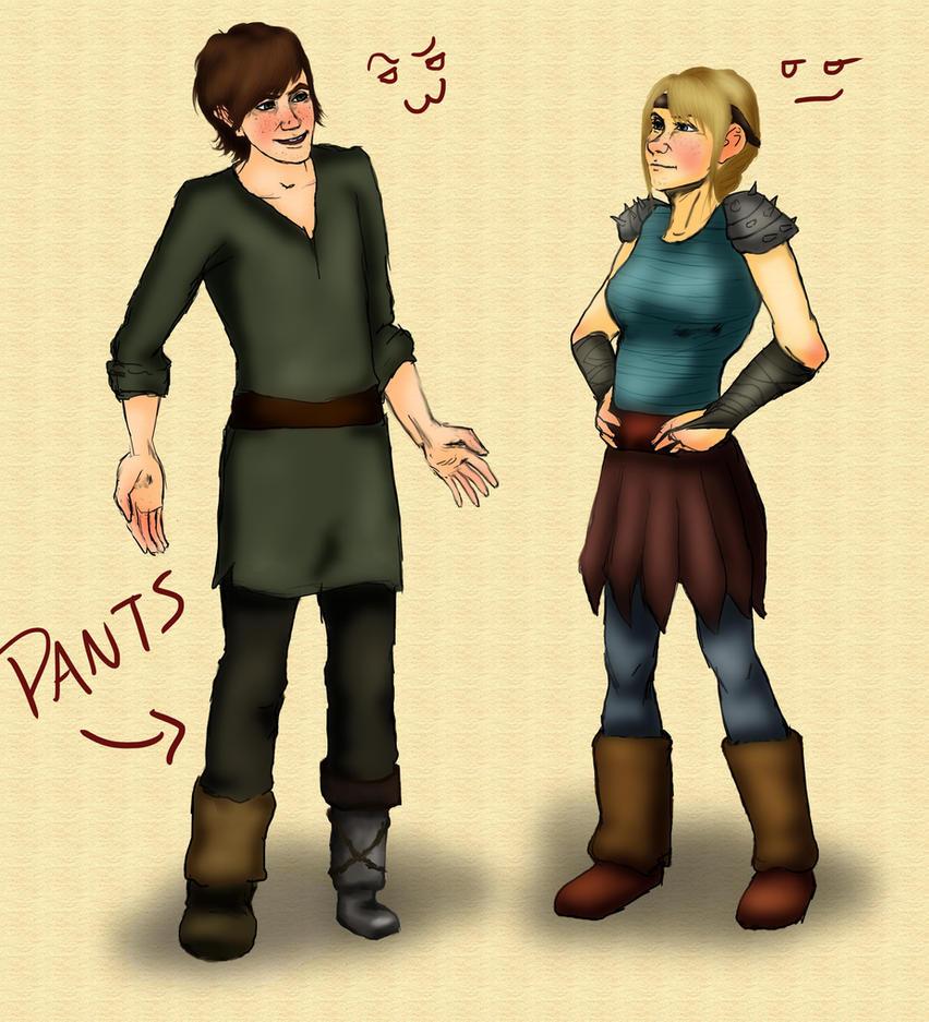 Who Wears the Pants? by AvannaK