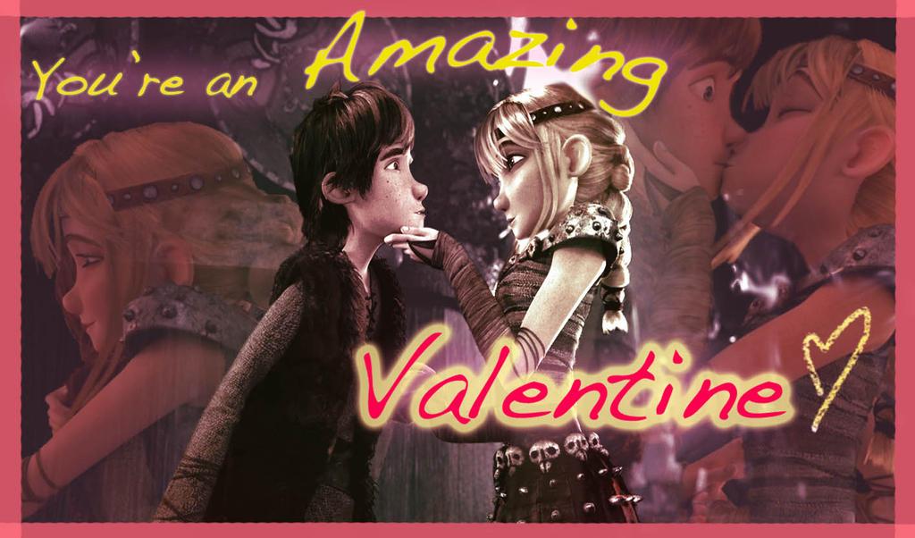HTTYD Valentine 1 by AvannaK