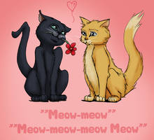 Valentine Kitties by AvannaK