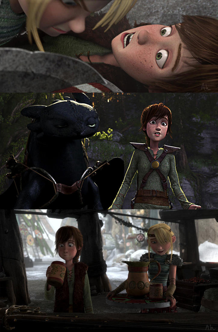 how to train your dragon hiccup and astrid fanfiction