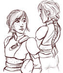Fem!Hiccup hairstyle for HTTYD2