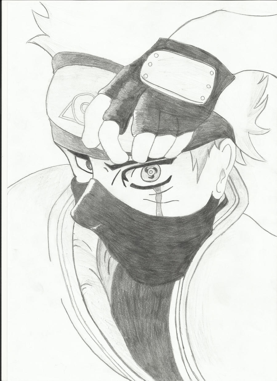 kakashi hatake with sharingan by wizardofsoul kakashi hatake with sharingan by wizardofsoul
