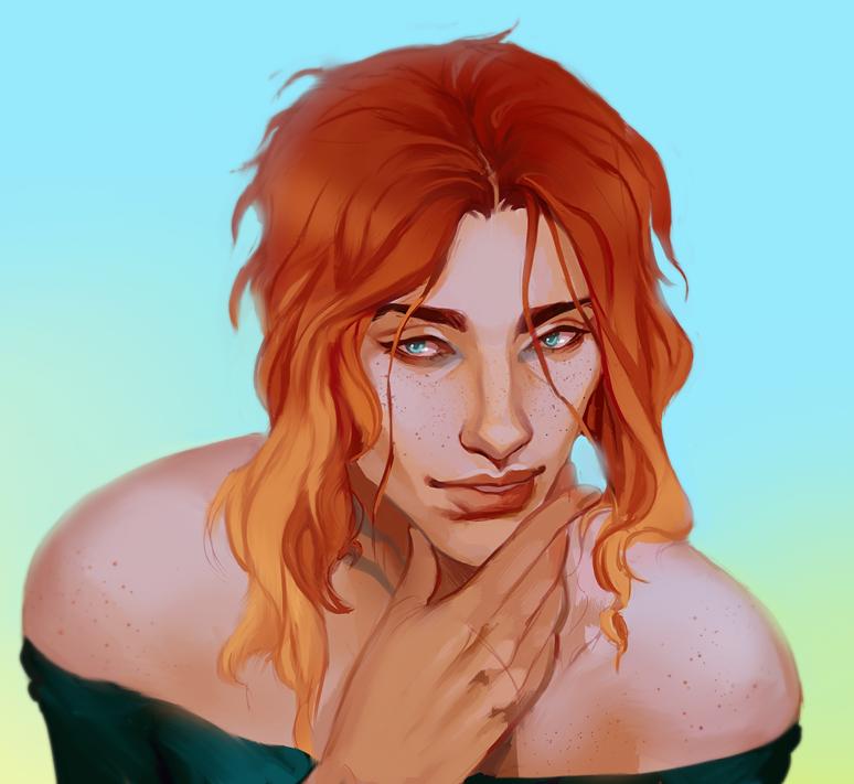 commission - Rough Portrait Littledoll
