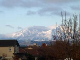 Mt. Diablo in Snow by babygurl83