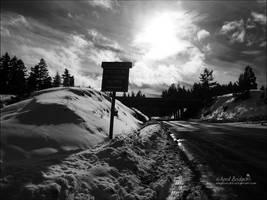 Mt. Ashland Road by babygurl83