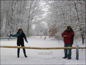 Snowball Fight: The Beginning by babygurl83