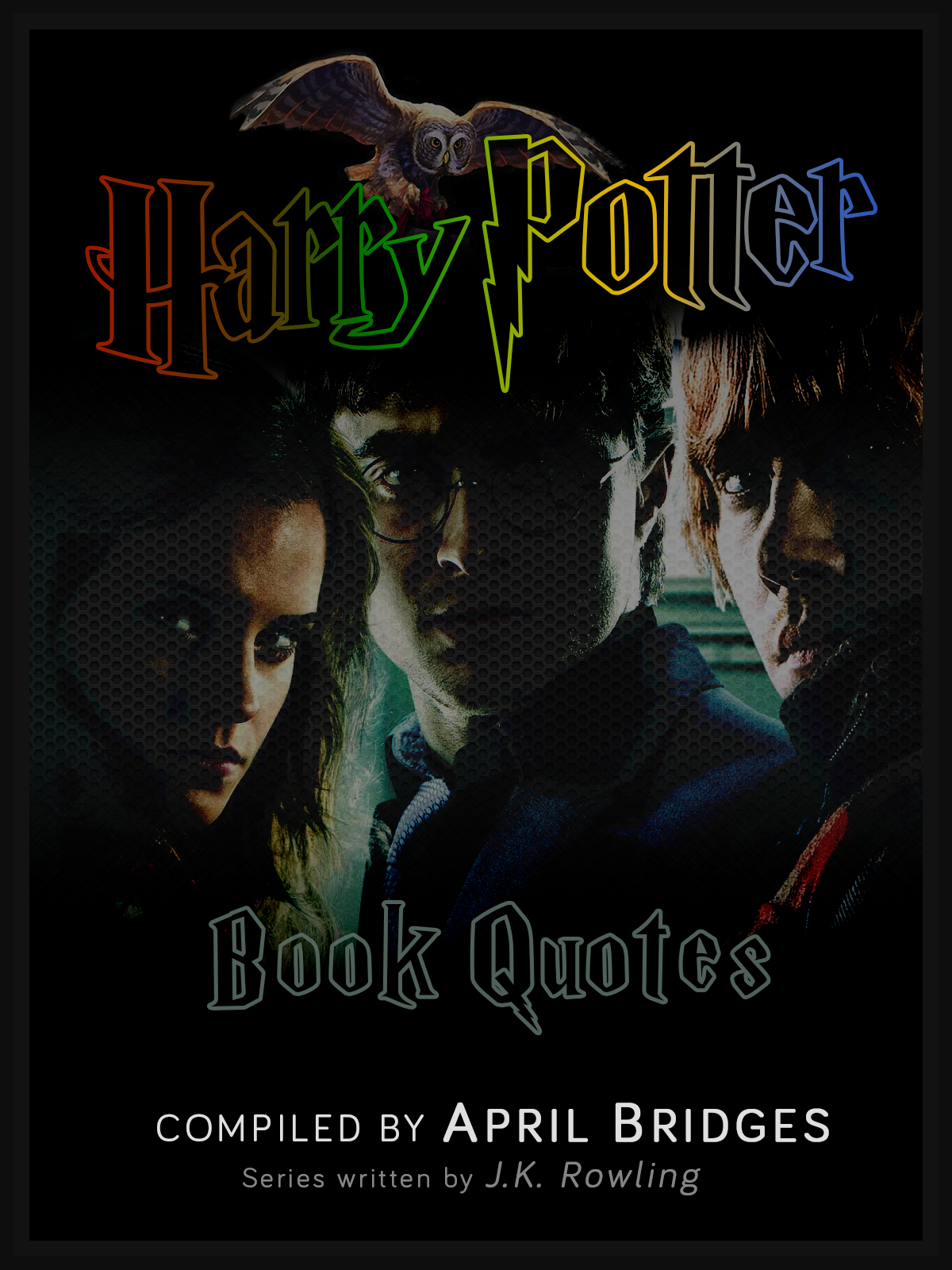 Book Cover Material Quotes ~ Book cover harry potter quotes by babygurl on