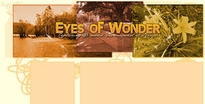 Eyes of Wonder layout by babygurl83