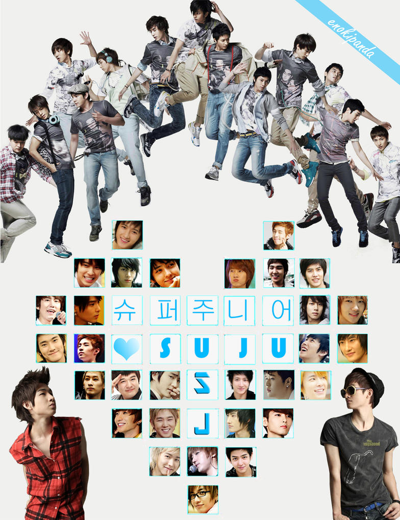 Super Junior Wallpaper by ~enokipanda on deviantART