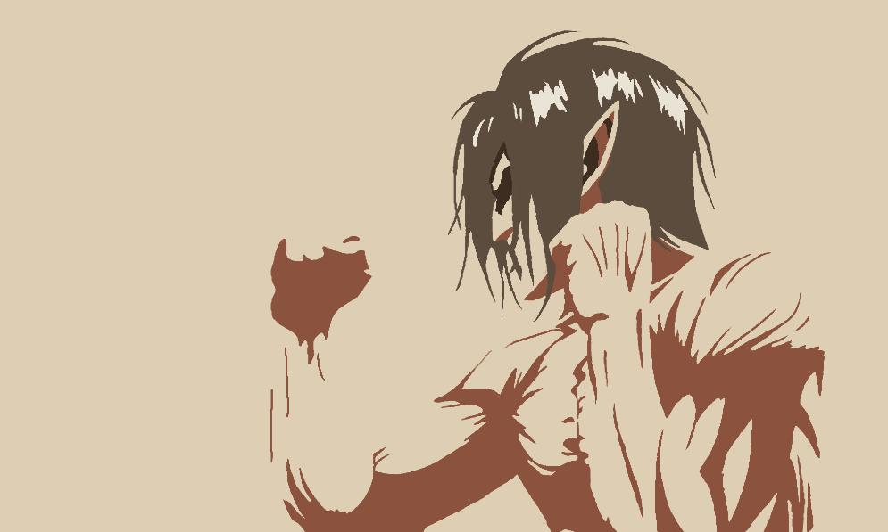 Eren Yeager - Titan Form by GeoX14 on DeviantArt