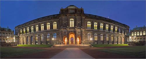 Dresden Zwinger by Torsten-Hufsky