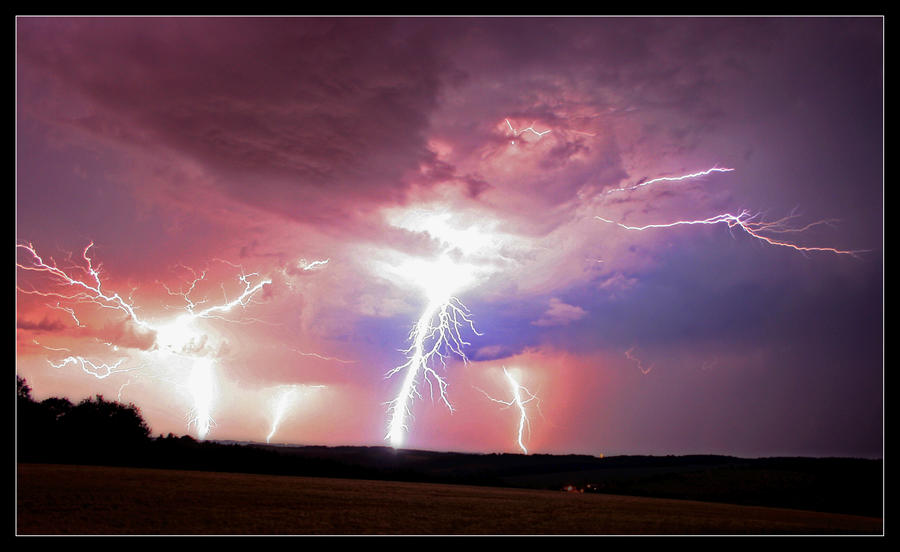 The Beauty Of Lightning Storms