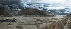 Infrared Clouds in South Tirol