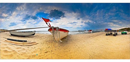 Little fishing port by Torsten-Hufsky