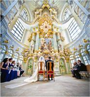 Wedding - Frauenkirche by Torsten-Hufsky