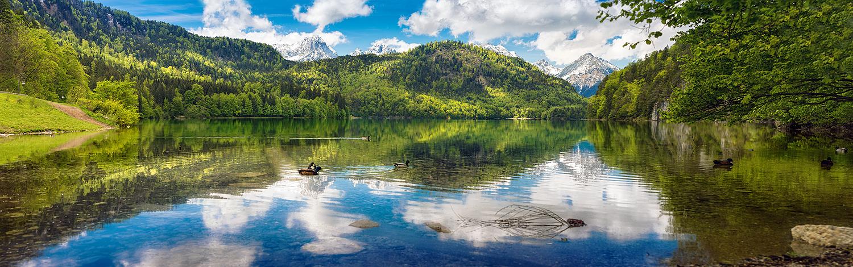 Alpsee - Neuschwanstein by Torsten-Hufsky