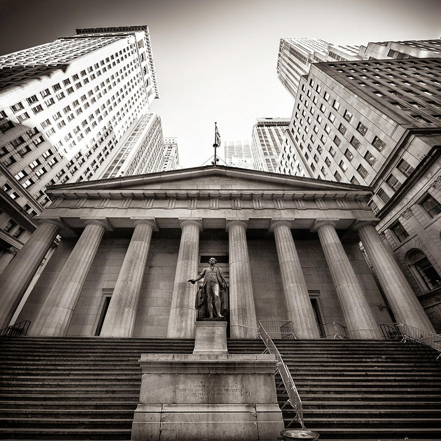 New York City - Federal Hall National Memorial by Torsten ...