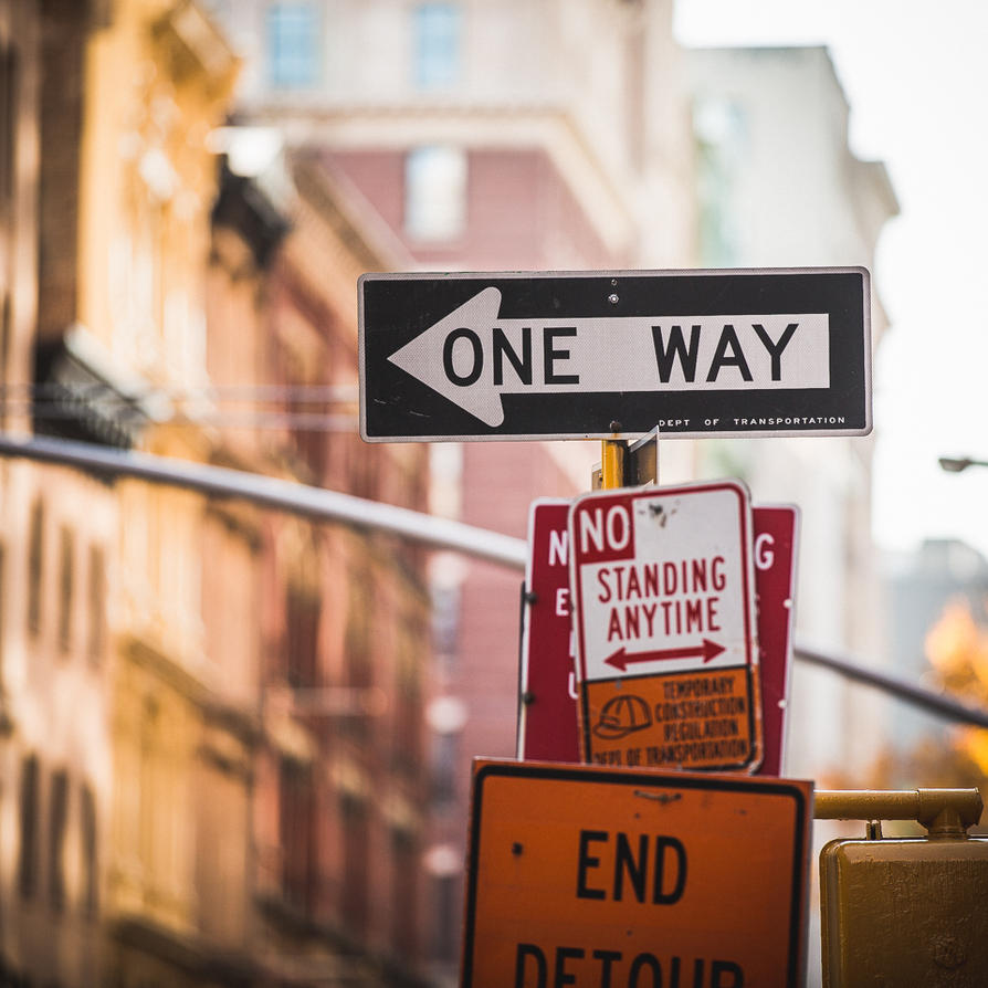 ONE WAY by Torsten-Hufsky