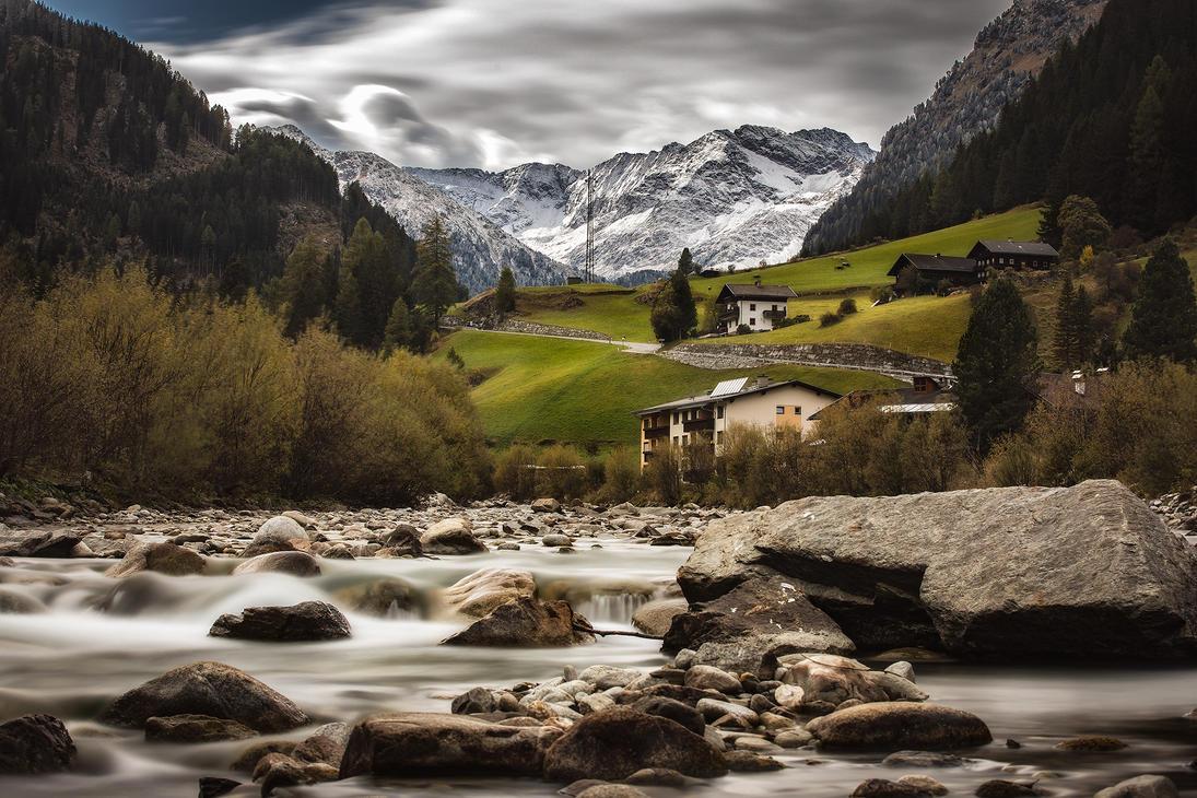 Wild river by Torsten-Hufsky